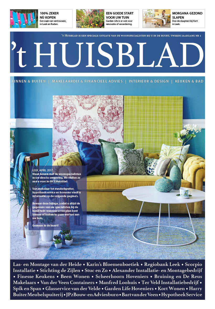 't Huisblad april 2017 - pagina 1