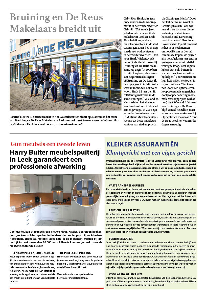 't Huisblad april 2017 - pagina 11