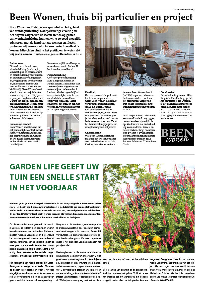 't Huisblad april 2017 - pagina 7