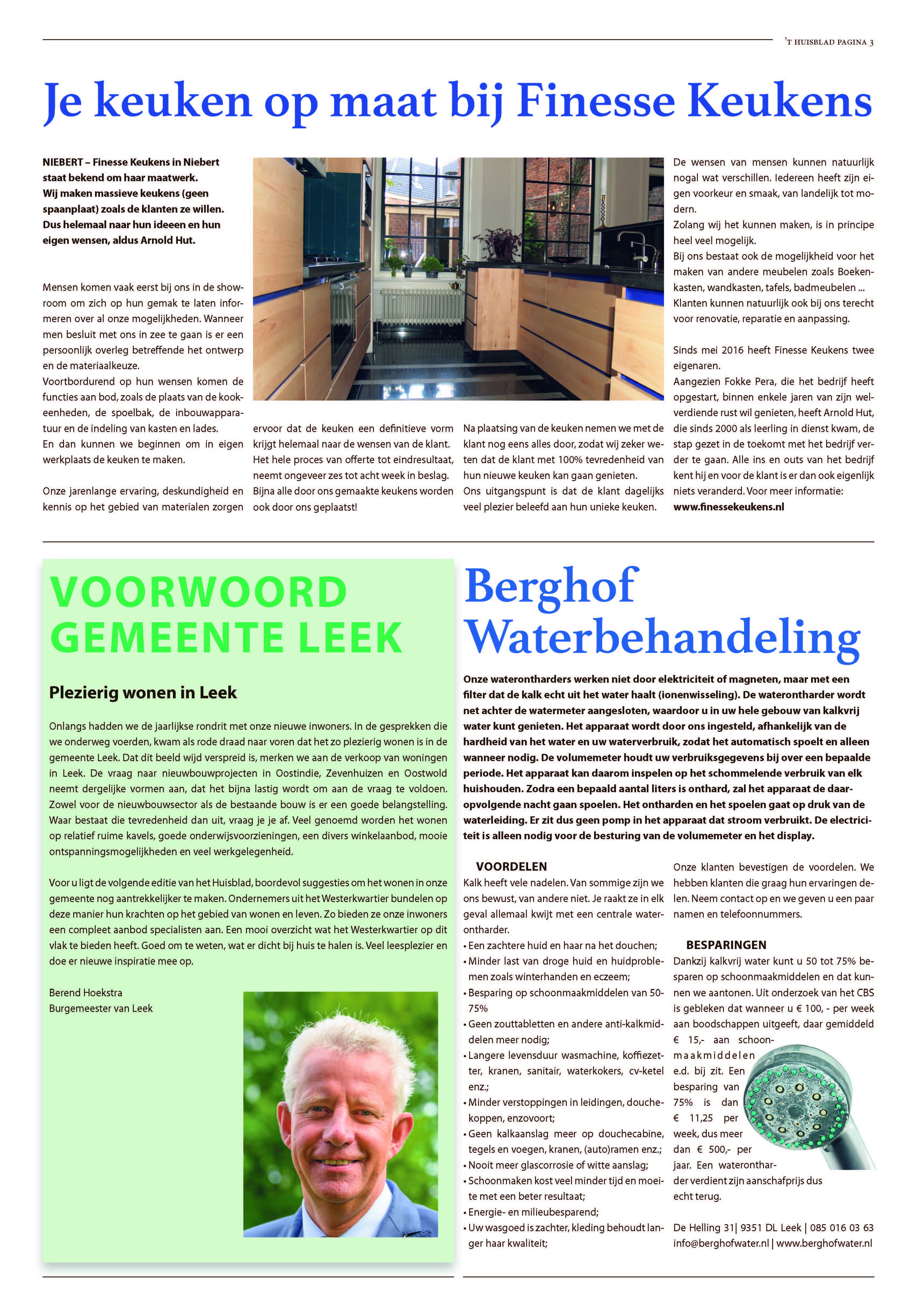 't Huisblad oktober 2017 - pagina 3