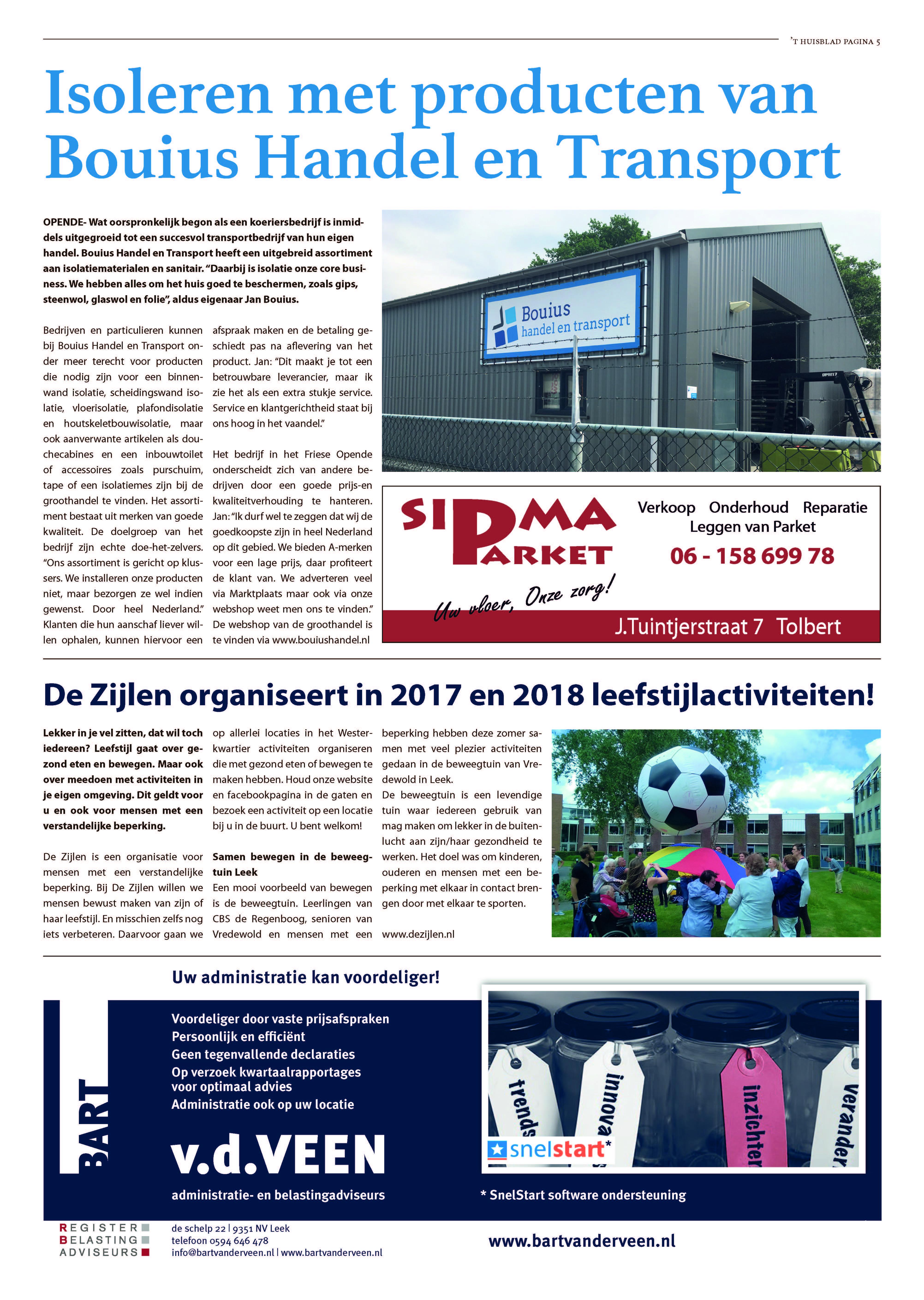 't Huisblad oktober 2017 - pagina 2