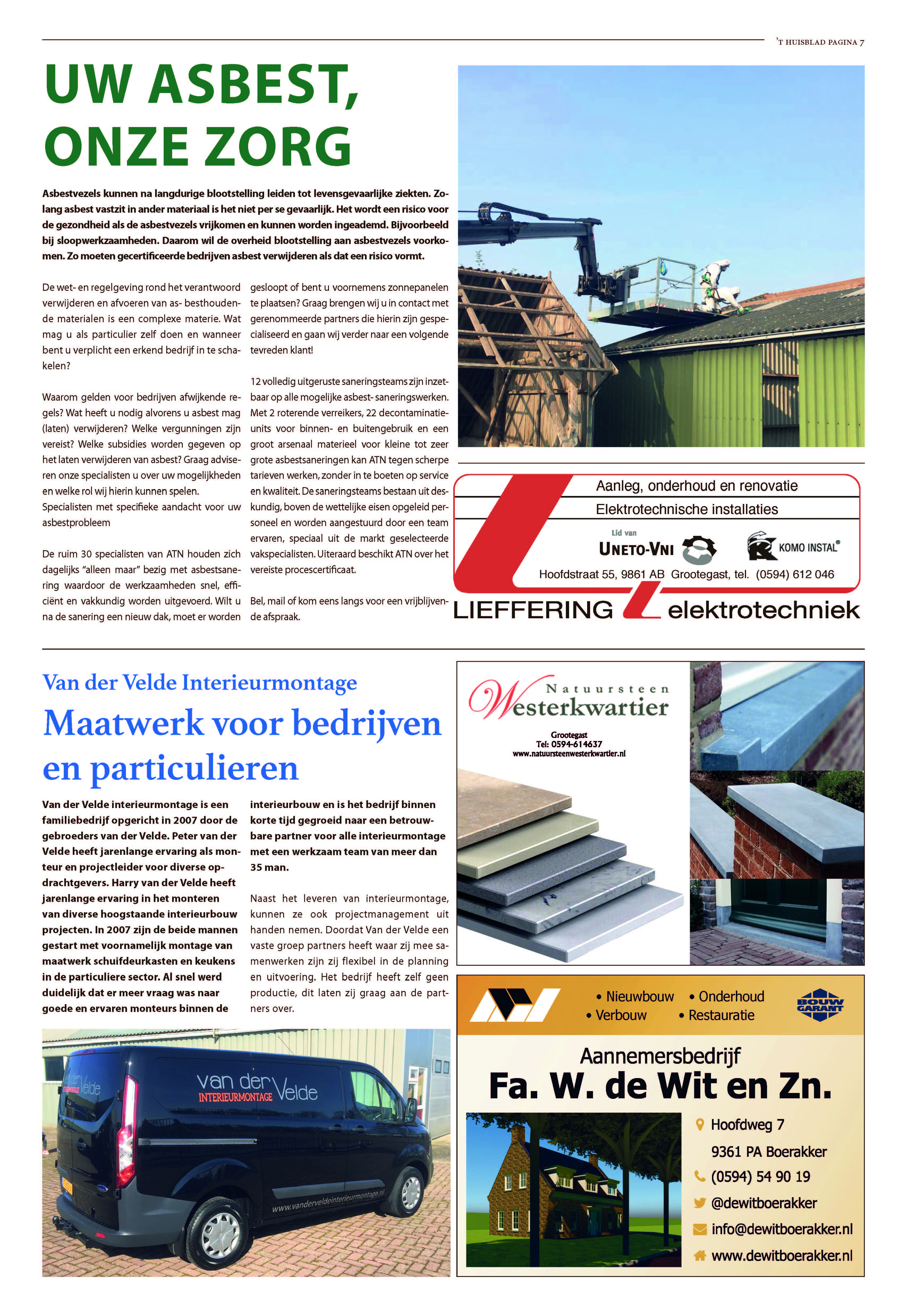 't Huisblad oktober 2017 - pagina 7
