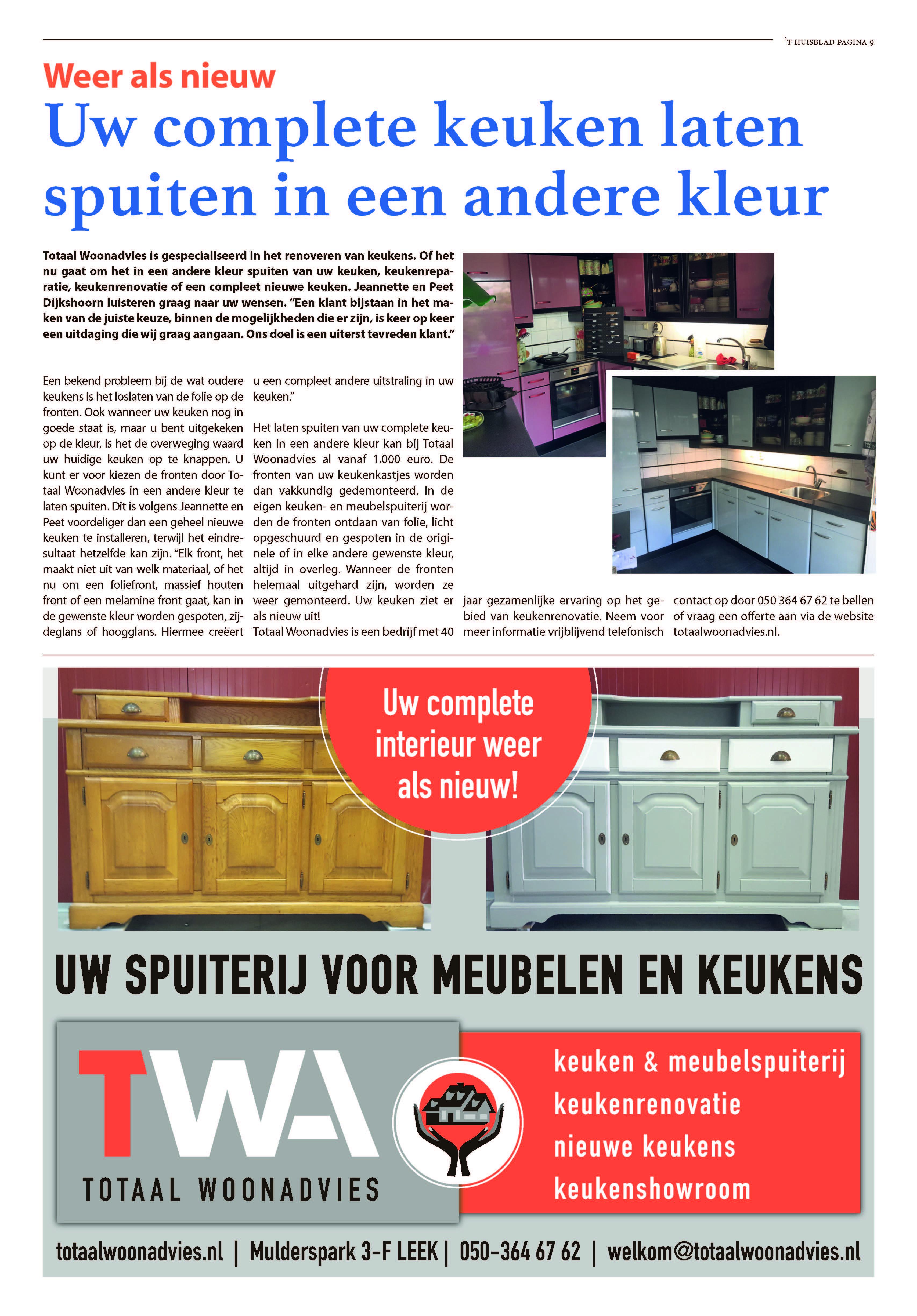 't Huisblad oktober 2017 - pagina 9