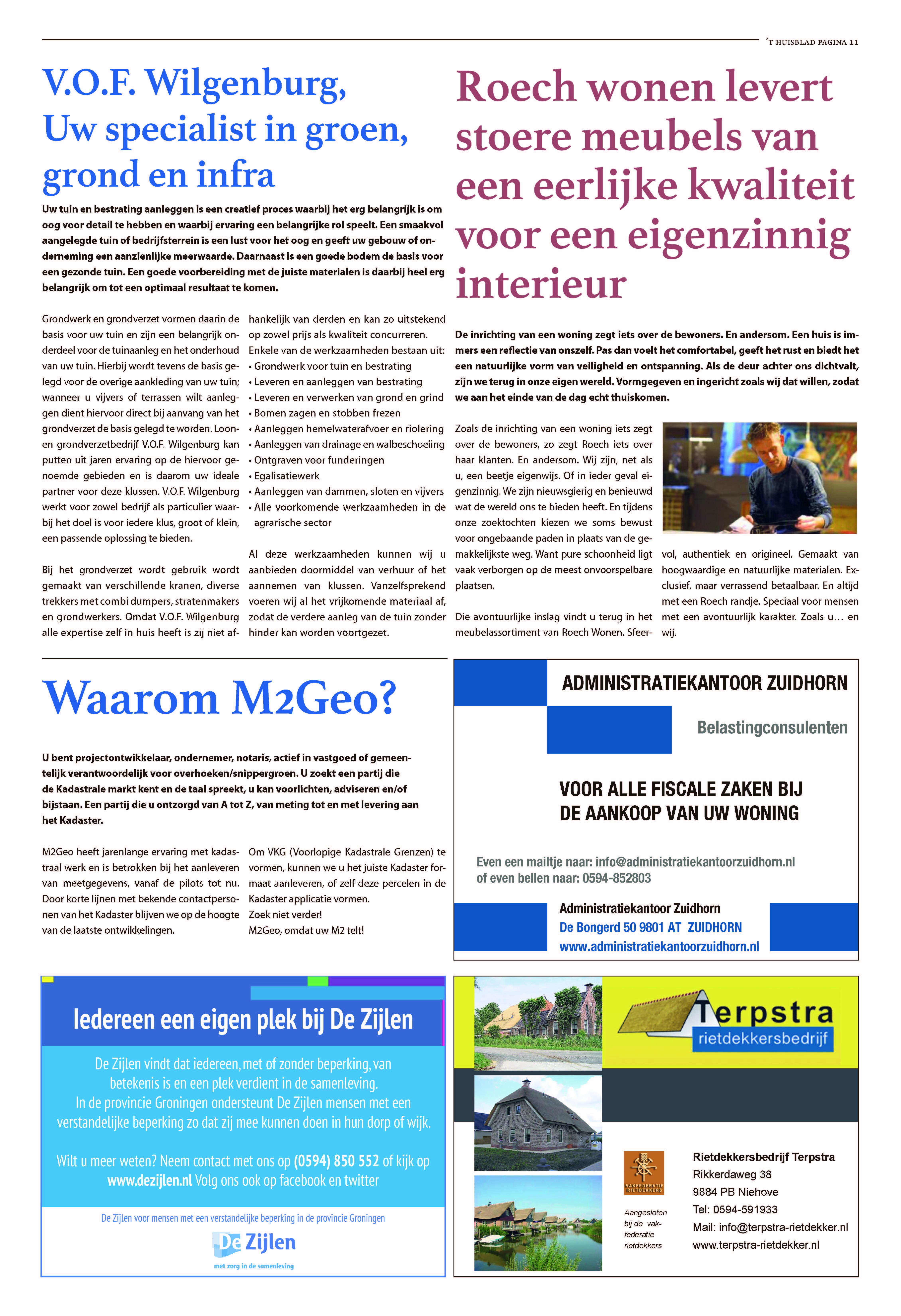 't Huisblad oktober 2017 - pagina 11